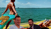 Rob Gronkowski -- I Wasn't Naked During Shoot, But GQ Says ...