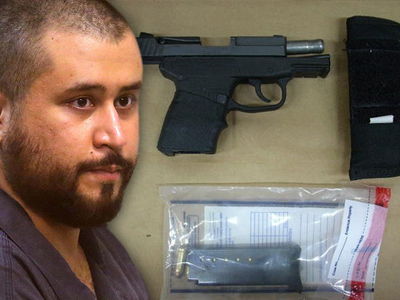 George Zimmerman -- Gun Auction Pulled Again ... And Then Relisted