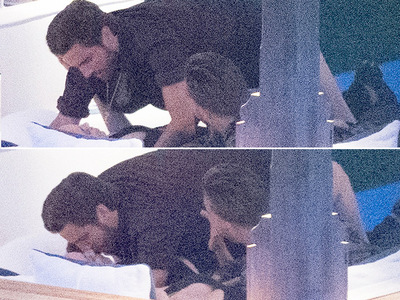 Scott Disick -- Makin' Out in Cannes (PHOTOS)
