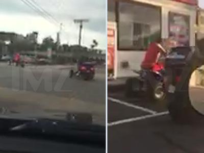 Chris Brown -- Video of ATV Antics ... Police on the Case (VIDEO)