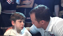 Drew Brees -- Surprises Special Needs Kid ... Is Best Guy Ever (VIDEO)