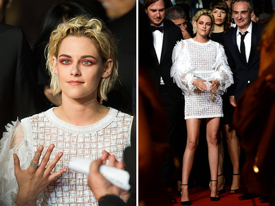 Kristen Stewart -- Twilight: Breaking Cannes (PHOTO)