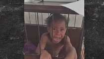 Waka Flocka Flame -- Puts Little Girl in Dog Cage ... 'I'll Bond You Out' (VIDEO)