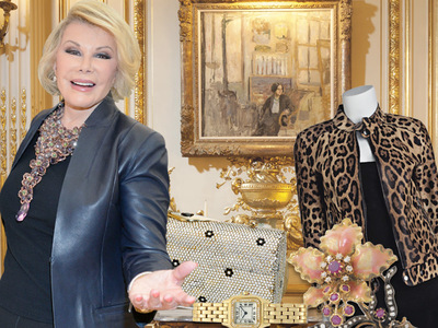 Joan Rivers -- Penthouse Treasures for Sale (PHOTOS + VIDEO)