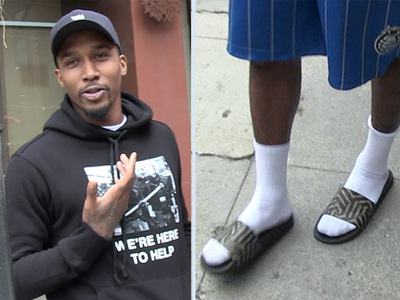 Brandon Jennings -- Talks NBA Fashion ... In $300 Sandals