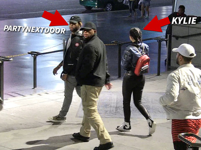 Kylie Jenner -- Back on the Horse ... With PartyNextDoor