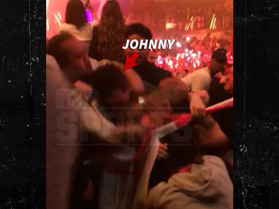 Johnny Manziel -- Booted From Vegas Club After Violent Scuffle (VIDEO)