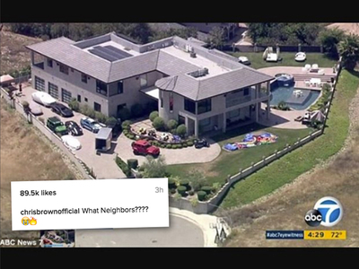 Chris Brown -- ATV Defiant ... What Neighbors? (PHOTOS)