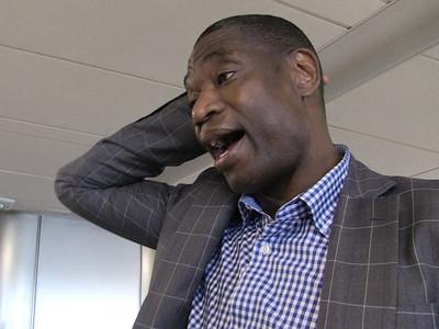 Dikembe Mutombo -- I Never Gave Biyombo Finger Wag Permission ... 'We Need to Talk' (VIDEO)