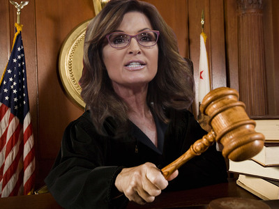 Sarah Palin -- I'll Pound My Gavel Like the Best of 'Em