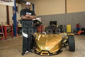 """Derrick """"Black Beast"""" Lewis' Custom Golden Whip"""