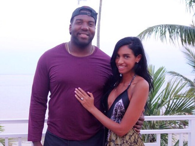 NFL's Russell Okung -- I'm Engaged!! CHECK OUT THE ROCK