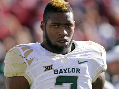 Baylor's Shawn Oakman -- '13 Domestic Violence Pics Show Minor Injuries (PHOTOS)