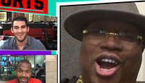 E-40 -- Teaming Up with MC Hammer ... Let's Do a Track Together! (VIDEO)