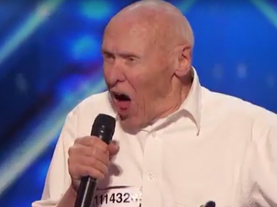 'AGT' Metal Grandpa -- Drowning Pool Wants 82-Year-Old to Join Band! (VIDEO)