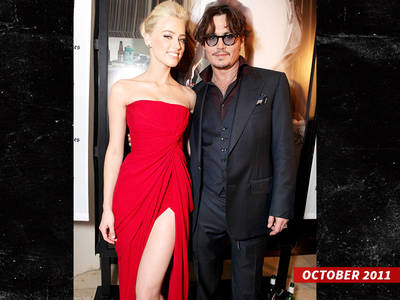Amber Heard -- Meets Johnny Depp, Asks Police to Erase Domestic Violence Record