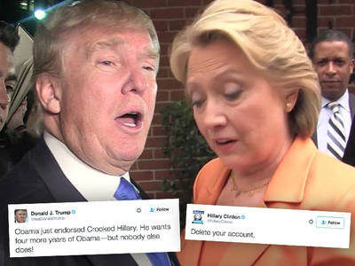 Donald Trump & Hillary Clinton -- Let the Trash Talk Begin!