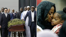 Muhammad Ali's Final Prayer Service -- Laila Ali and Celeb Friends Gather (PHOTOS)