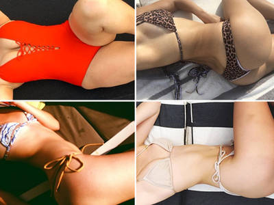Babes From a Bird's-Eye View -- Guess Whose Sexy Selfies!