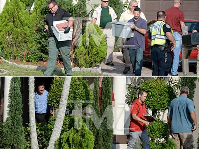 Omar Mateen -- Police Raid Father's House (PHOTOS)