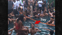 Trey Songz -- Throws $80k Pool Party ... I See You, Drake! (VIDEO)