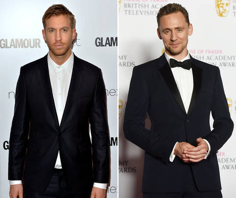 Who belongs with Taylor Swift? Calvin Harris (32) vs. Tom Hiddleston (35)