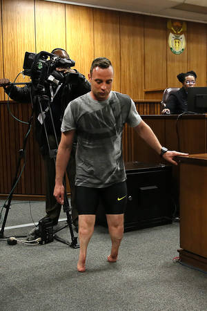 Oscar Pistorius -- The Demonstration