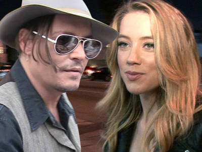 Amber Heard, Johnny Depp -- It's Game Off ... For Now