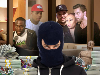 Hart, Disick, Brown, Chyna -- Targets of New Bling Ring?