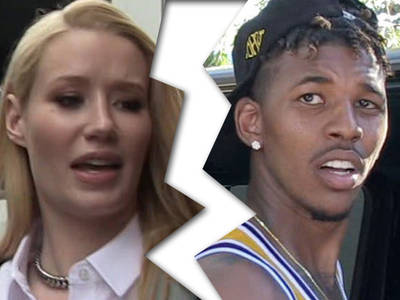 Iggy Azalea -- Breaks Up With Nick Young ... I Can't Trust Him