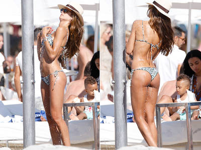 VS Model Izabel Goulart -- You Can Look ... Butt Probably Not Touch (PHOTO GALLERY)