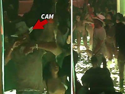Cam Newton -- Fires Money Bombs ... In ATL Strip Club (VIDEO)