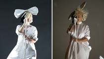 Sia -- My Cover's Blown!!! (PHOTOS)