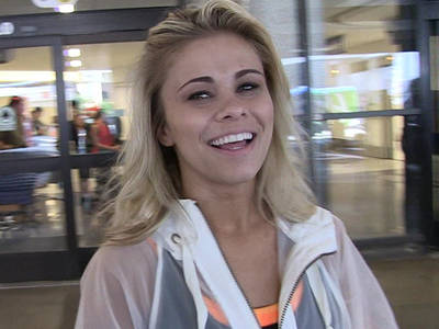 Paige VanZant -- Quits 'Kickboxer' Movie ... to Focus on UFC Fight