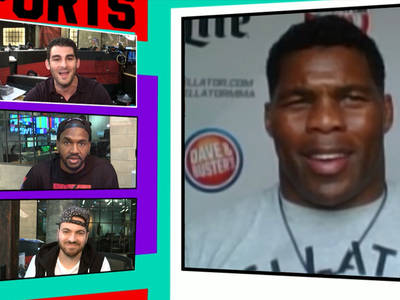 Herschel Walker -- I'm Down to Fight Rampage Jackson ... This Year! (VIDEO)