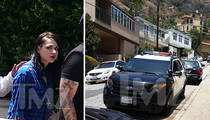 Frances Bean Cobain Divorce -- Cops On Guard for Violence While She Moves Out (PHOTOS)