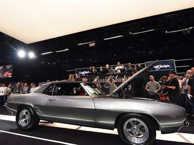 NFL's Greg Olsen -- '69 Camaro Sells for $100k ... to NASCAR Honcho