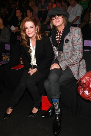 Lisa Marie Presley and Michael Lockwood -- Before the Split