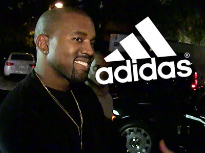 Kanye West -- Adidas Deal Has Billion Dollar Potential ... Look Out Nike!