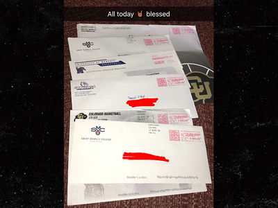Shareef O'Neal -- Colleges Love Me ... Check Out the Recruiting Letters! (PHOTO)