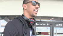 Cavs' Channing Frye -- Yes, I Made Out With The Trophy ... BUT I CLEANED IT FIRST (VIDEOS)