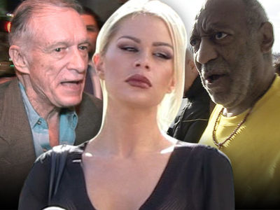 Hugh Hefner to Cosby Accuser -- Dragging Me Into Your Suit is a Sham