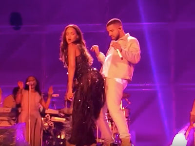 Drake -- Whipped by Rihanna ... and Her Booty (VIDEO)