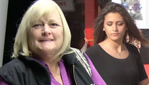 Debbie Rowe -- Diagnosed with Breast Cancer ... Daughter Paris Jackson in the Dark