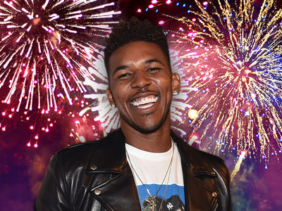 Nick Young -- Celebrates Independence from Iggy ... With Massive 4th Party (VIDEO)