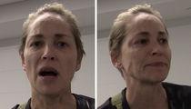 Sharon Stone -- Tearful Over Police Shootings (VIDEO)