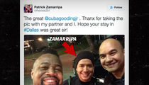 Dallas Assassinations -- Slain Cop's Chance Meeting with Cuba Gooding Jr. (PHOTO)