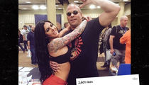 Ex-WWE Star Rob Van Dam -- Dammmmm His New Girlfriend's Hot!!! (PHOTO)