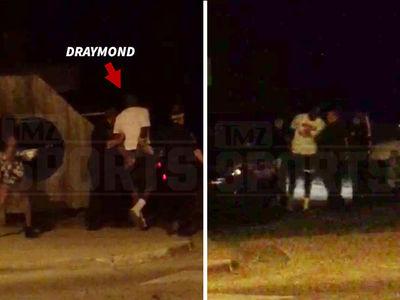 Draymond Green Arrest -- Allegedly Slapped Heckler in Bar (VIDEO)