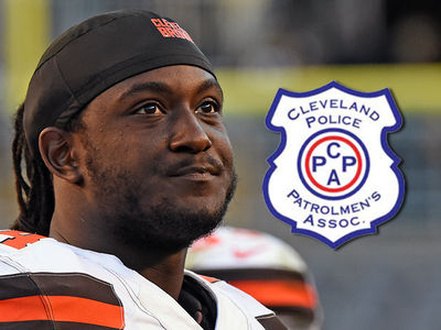 Cleveland Browns -- Police Threaten to Pull Protection Over Player's Dead Cop Post